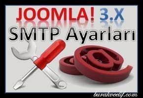 Joomla!3.x.x SMTP Sunucu Ayarları